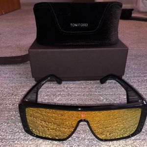 Tom Ford reflective sunglasses